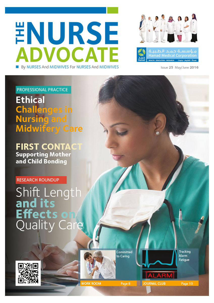 nurse advocate Explore nurses' role as patient advocates and how it relates to patient care and overall patient experience in the ever-changing modern healthcare system.